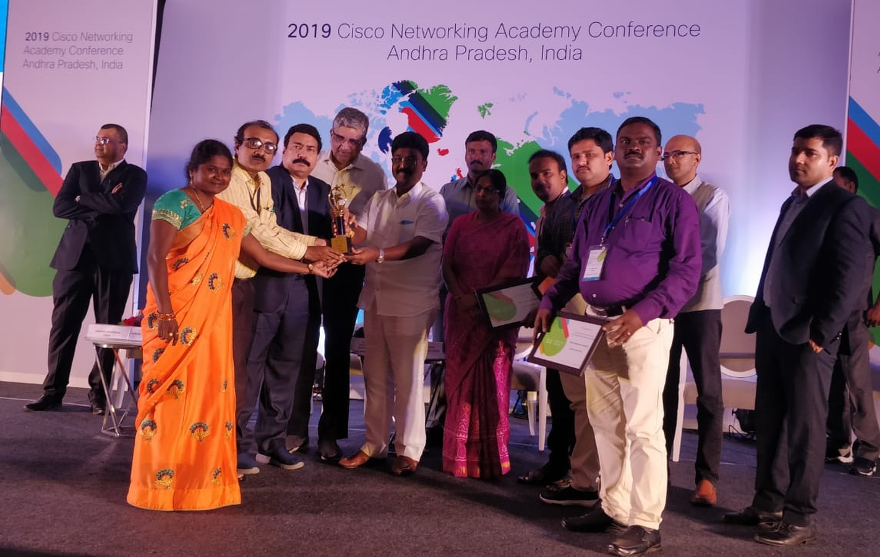 CISCO BEST PERFORMING INSTITUTE AWARD 2019