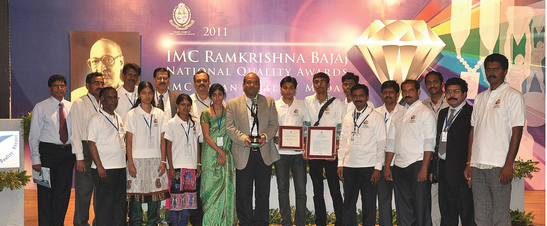 IMC Ramkrishna Bajaj National Quality(RBNQ) TROPHY 2011